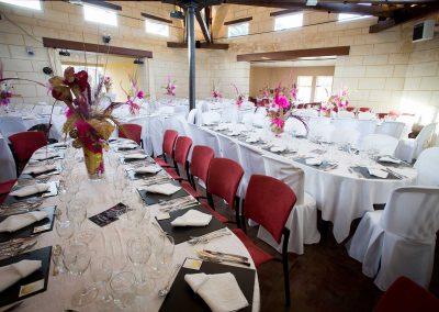 Décoration de salle pour mariage loir et cher