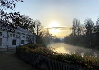 Le bord du Loir