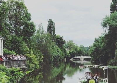 Le Clos du Loir - Embarcation pour une réception